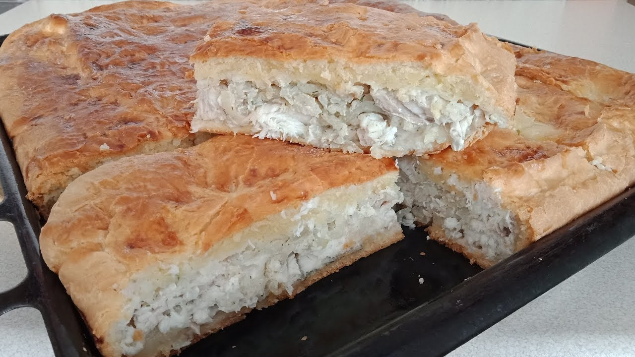 постный рыбный пирог рецепт с фото этой