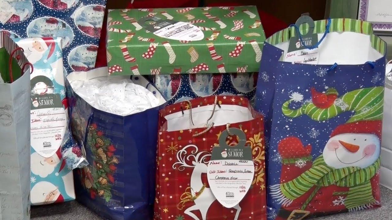 Be Be A Santa To A Senior Brings Holiday Cheer To Local Senior