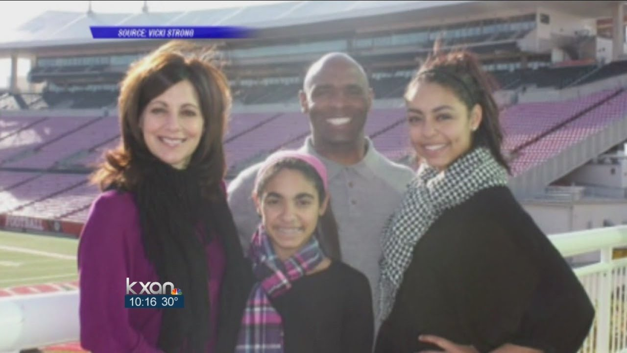 Meet Charlie Strong and his family