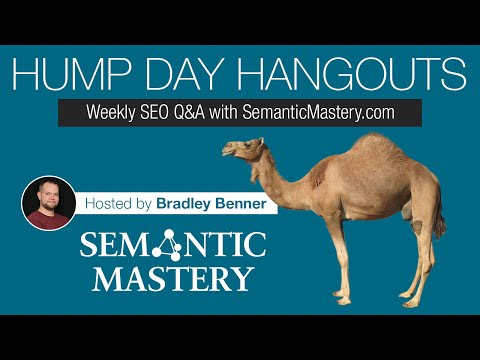 Weekly SEO Q&A - Hump Day Hangouts - Episode 84 Replay