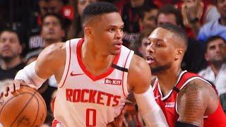 Houston Rockets vs Portland Trail Blazers Full Game Highlights | January 15, 2019-20 NBA Season