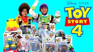 Troy and Izaak BIGGEST TOY STORY 4 COLLECTION! TBTFunTV