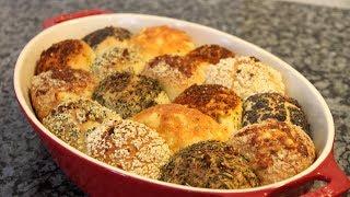 Эти булочки приведут тебя в полный восторг!Разноцветные булочки-море вкусов и ароматов!