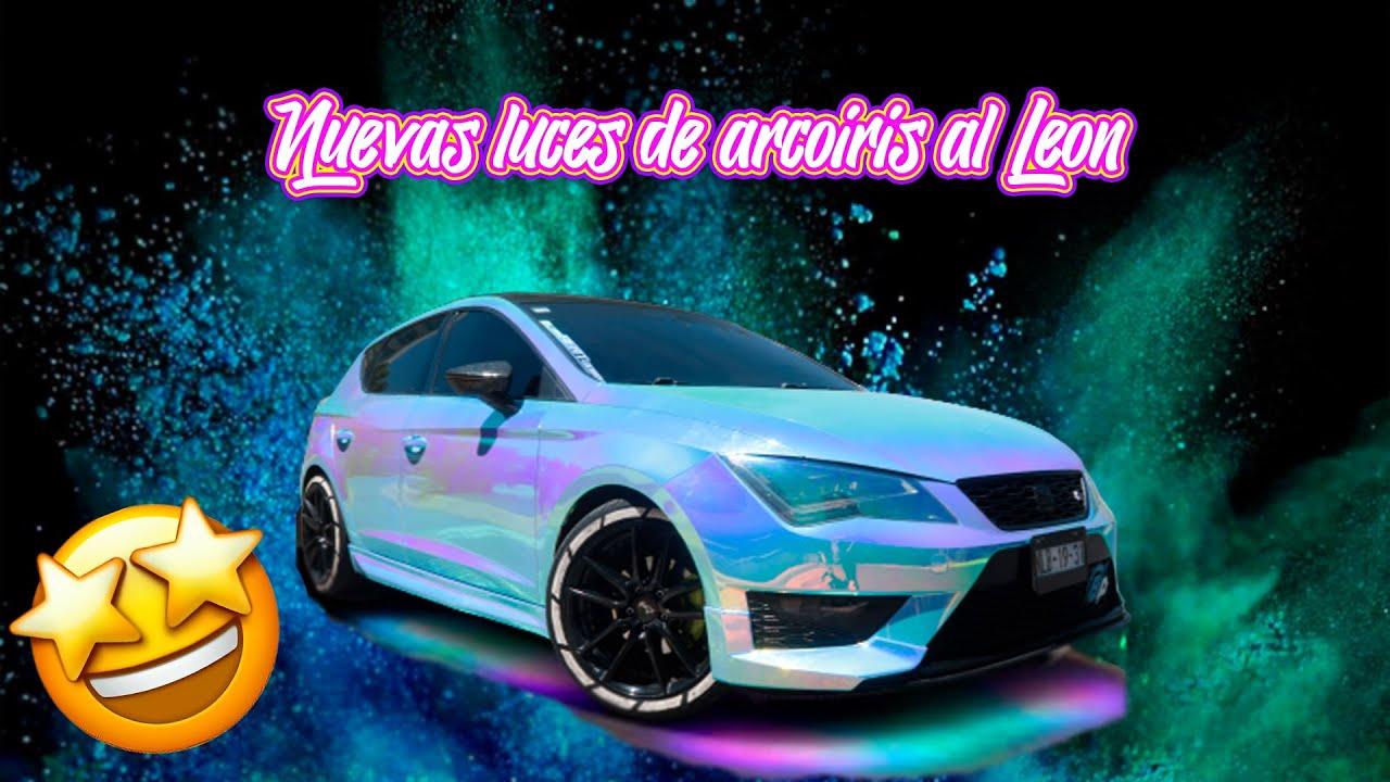 LUCES LED DE TIKTOK PARA MI SEAT LEON FR | Betito Padilla