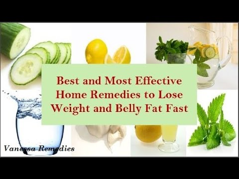 Natural Remedies To Reduce Belly Fat