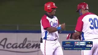 HIGHLIGHTS Canada v Cuba - Baseball Americas Qualifier