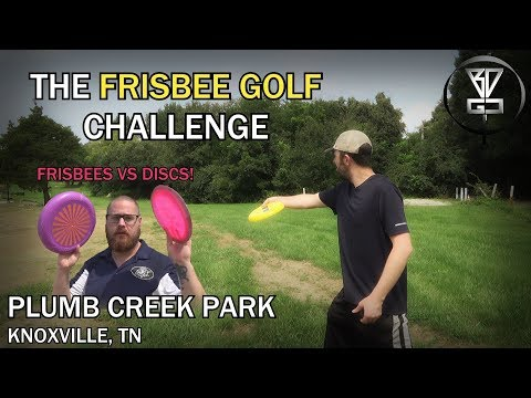 The Frisbee Golf Challenge - Plumb Creek Park DGC In Knoxville, TN