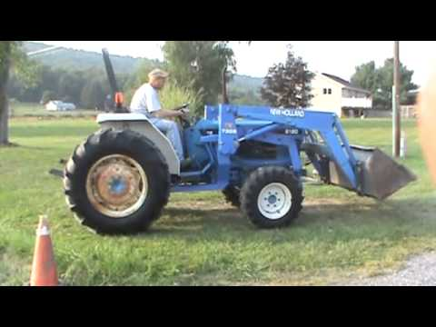 2000 New Holland 2120 Compact Tractor Loader 540 PTO 4x4 3 Point Hitch For Sale