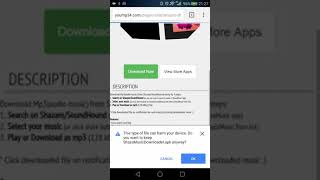 Shazam mp3 downloader for Android