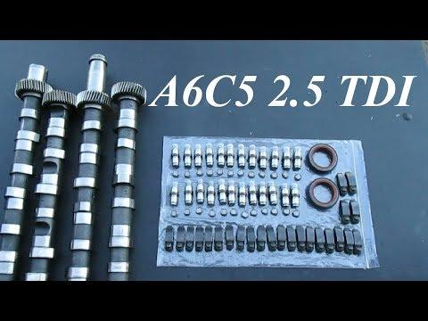Замена ГРМ и распредвалов Audi A6C5 2.5 TDI