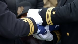 Johnnie D  Croom WWII Veteran  United States Navy   Military Funeral