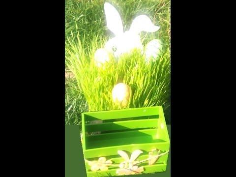 Oeufs De Paques En Papier Mache Objets De Decoration Youtube