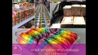 Rainbow Cookies Amsyarbaker (biskut Lidah Kucing)