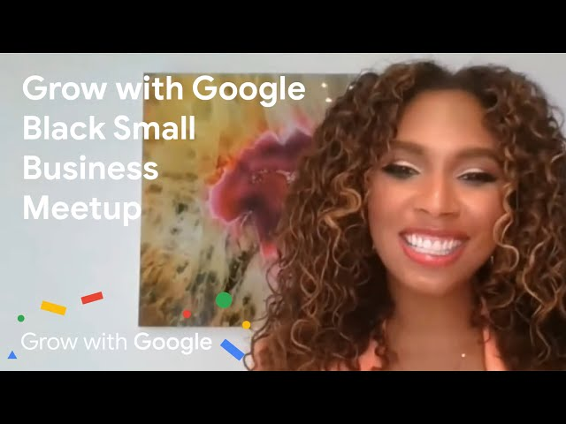 Grow With Google National Coach Angelina Darrisaw Moderates Panel of Black Business Owners