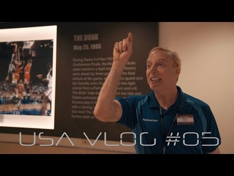 most adoreable tourguide in Madison Square Garden - USA VLog #05