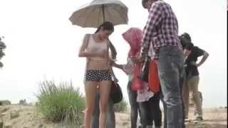Anushka bikini scene making video