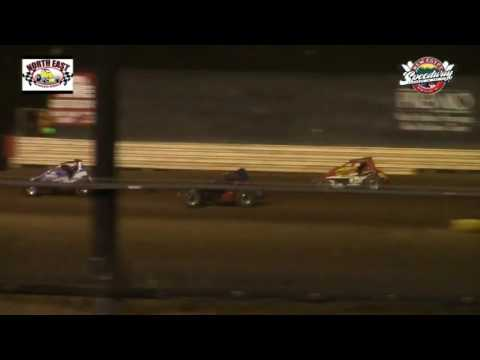 Northeast Wingless Sprint Cars 6/18/16 at New Egypt Speedway
