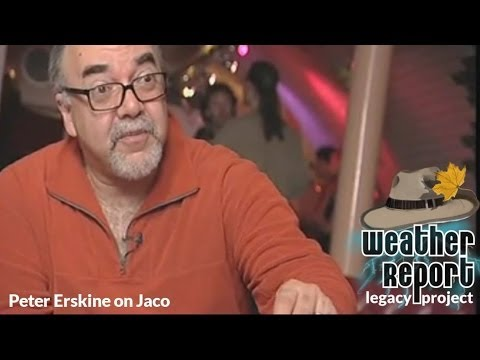 Peter Erskine talks about Jaco Pastorius Stage Antics