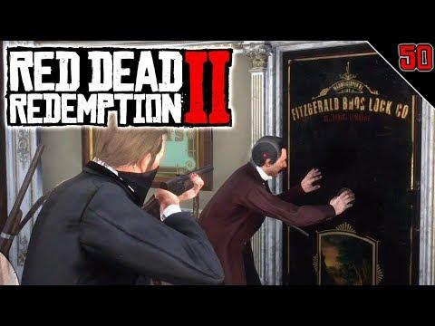 RDR2 #50 | ATRACO AL BANCO DE SAINT DENIS | RED DEAD REDEMPTION 2 Gameplay Español