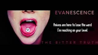 Evanescence - Yeah Right (Lyrics Video) [Official Audio] HD