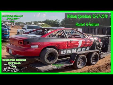 Hornet  A-Feature  Lebanon Midway Speedway 5/27/2018