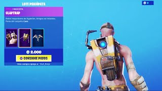 THE *NEW STORE* OF FORTNITE TODAY AUGUST 28 *NEW PACK* PSICOPATA OF BORDERLANDS AND... 😅❤️