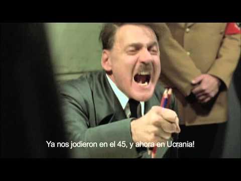 Hitler se entera que Putin tiene Crimea