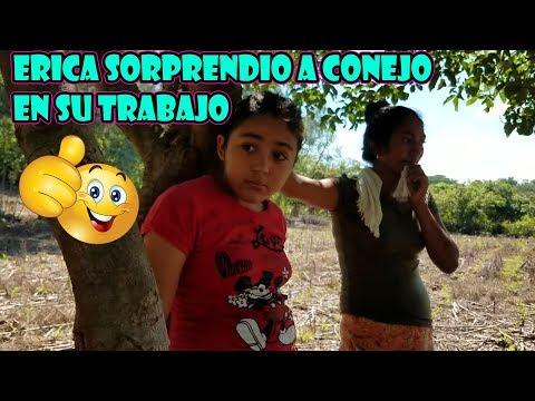 LAURA Y ERIKA SORPRENDE A CONEJO EN SU TRABAJO, MIRE CON LA RECIBIERON - UN DIA EN EL CAMPO - P / 1 thumbnail
