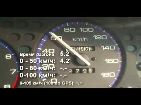 разгон honda civic ferio до 100 км