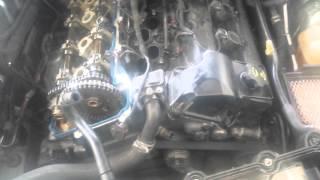 07 Chrysler 300 2.7 oil leak  oil light solved