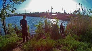 Утренняя РЫБАЛКА у ПИРСА на Канале. В Поисках Рыбы.
