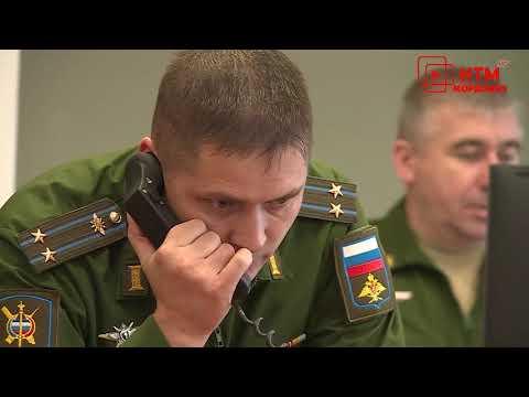 В ковылкинском районе на опытно-боевое дежурство заступил расчет РЛС