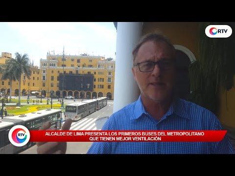 Presentan nuevos buses del Metropilitano - #RTV