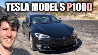 I Finally Drive A Tesla! Model S P100d
