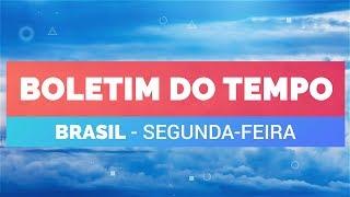 Previsão Brasil- Tempo muito instável no centro-sul do BR