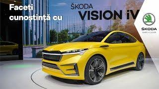 Faceți cunoștință cu ŠKODA VISION iV