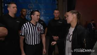 Ronda Rousey And Her Husband Travis Browne Attack WWE Security On RAW!