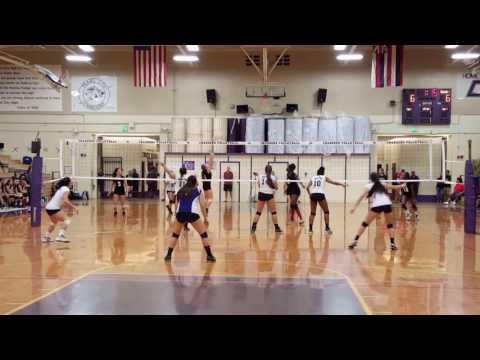 Shannen Sakai #9 DS/OH - 2016 PCHS Varsity Volleyball Highlights