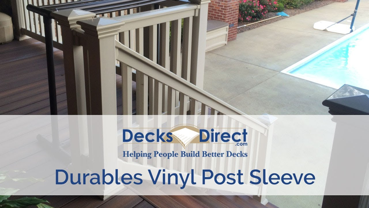 Vinyl Post Sleeve By Durables