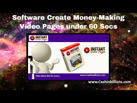 Instant Video Pages Review Demo | How to Create responsive High Converting Video Pages