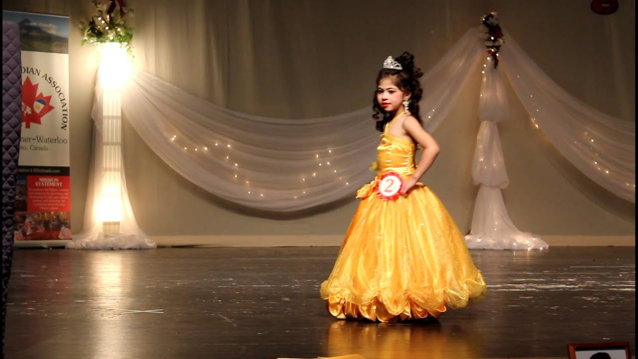 Little Miss Philippines - Beauty Pageant 2012 - Evening gown - YouTube