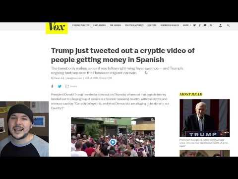 Trump Calls Out Migrant Caravan, Blames Open Borders Democrats