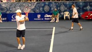 Ashley Fisher/Stephen Huss vs. Jack Sock/Donald Young