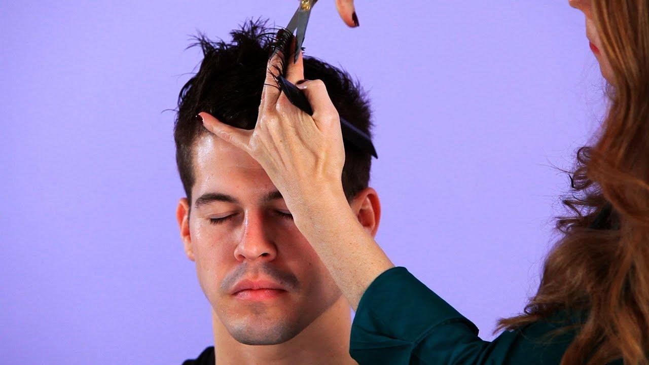How to Cut Top Hair for Backward Motion  Hair Cutting