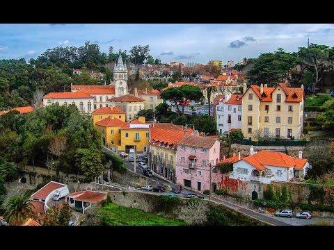 Um dia na cidade de  Sintra Portugal