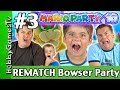Mario Party 10 Bowser Party #3 REMATCH, Nintendo Wii U Gameplay by HobbyGamesTV