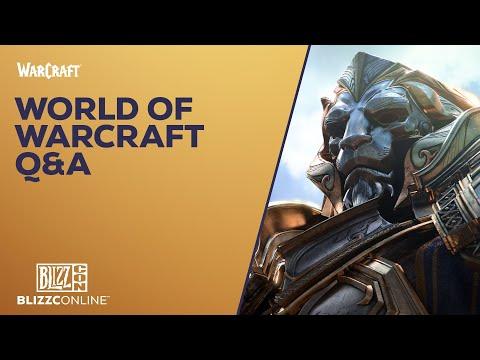 BlizzConline 2021 - World of Warcraft Q&A