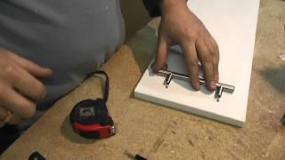 Как сделать кухонную угловую тумбу(В данном уроке я покажу, как я изготавливаю кухонную угловую кухню. Покажу как крепить мебельные петли (крок..., 2016-02-15T20:37:06.000Z)