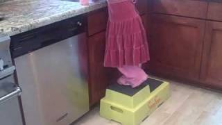 2 Step Stool For Kids, Kitchens & Bathrooms