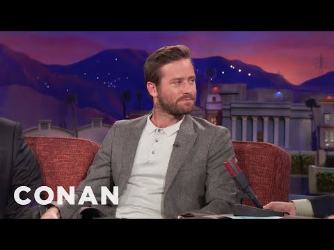 Armie Hammer Is No Halle Berry   CONAN on TBS